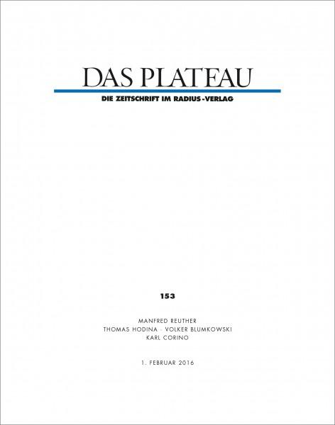 DAS PLATEAU No 153