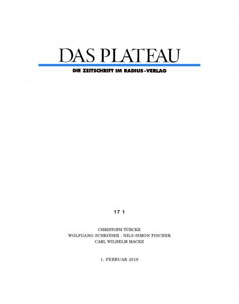 DAS PLATEAU No 171