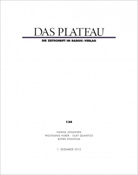 DAS PLATEAU No 134