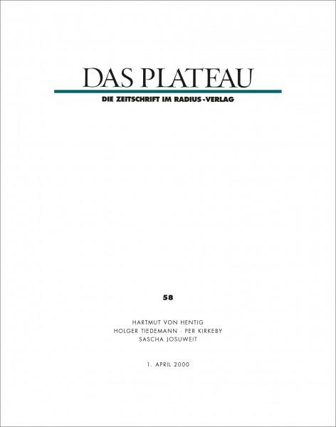 DAS PLATEAU No 58