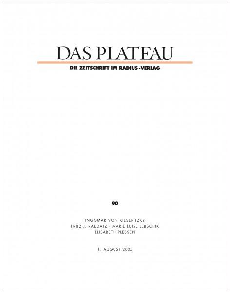 DAS PLATEAU No 90