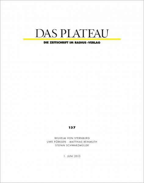 DAS PLATEAU No 137