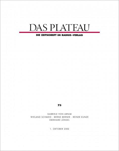 DAS PLATEAU No 73