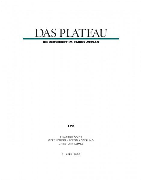 DAS PLATEAU No 178