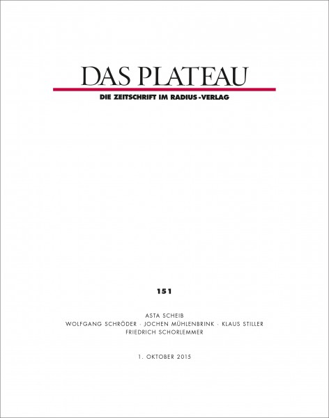 DAS PLATEAU No 151