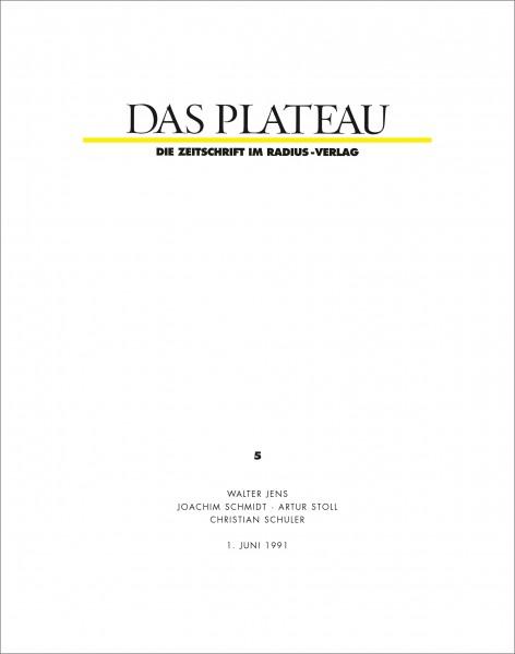 DAS PLATEAU No 5