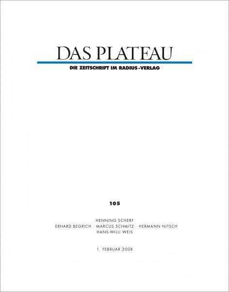 DAS PLATEAU No 105
