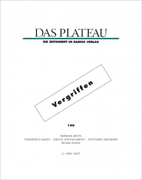 DAS PLATEAU No 100