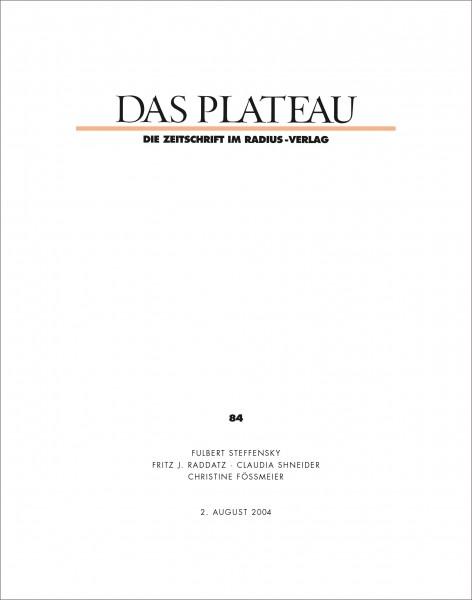 DAS PLATEAU No 84
