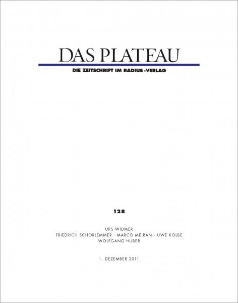 DAS PLATEAU No 128
