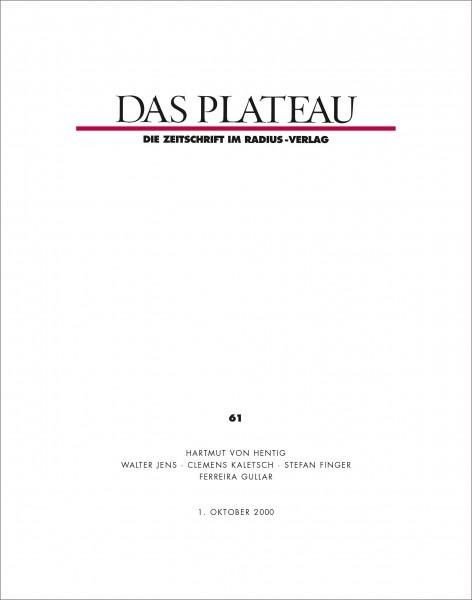 DAS PLATEAU No 61