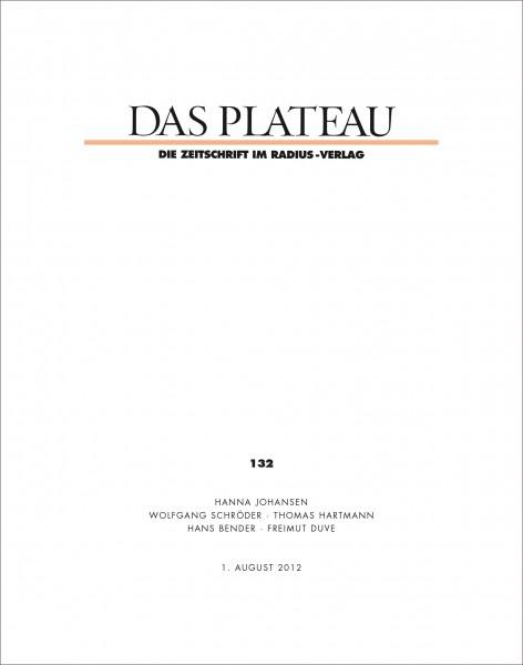 DAS PLATEAU No 132