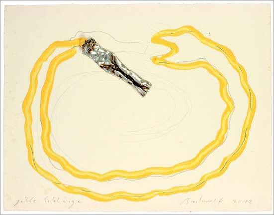 »gelbe Schlange«