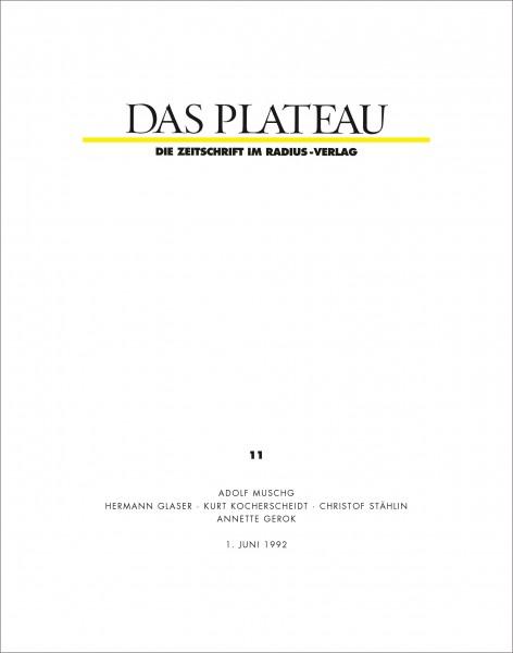 DAS PLATEAU No 11