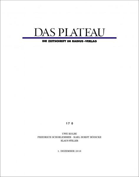 DAS PLATEAU No 170