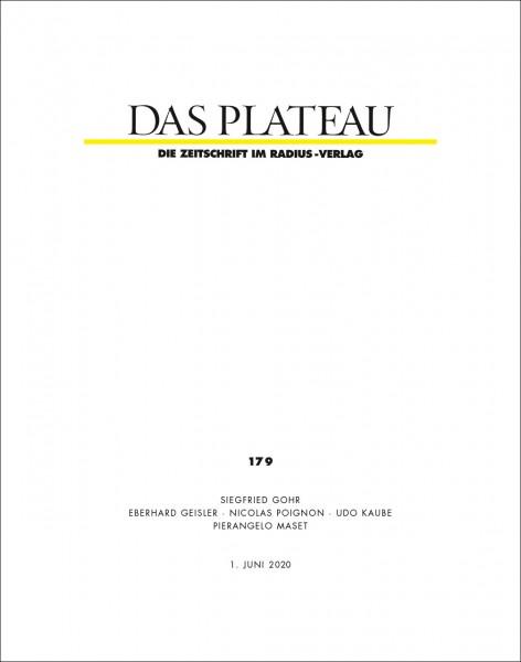DAS PLATEAU No 179