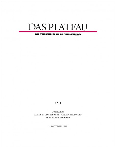 DAS PLATEAU No 169