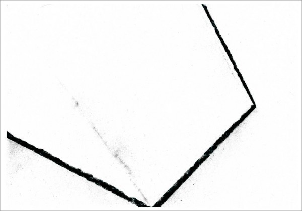 Kohle auf Papier
