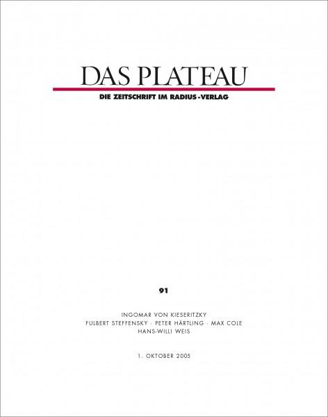 DAS PLATEAU No 91