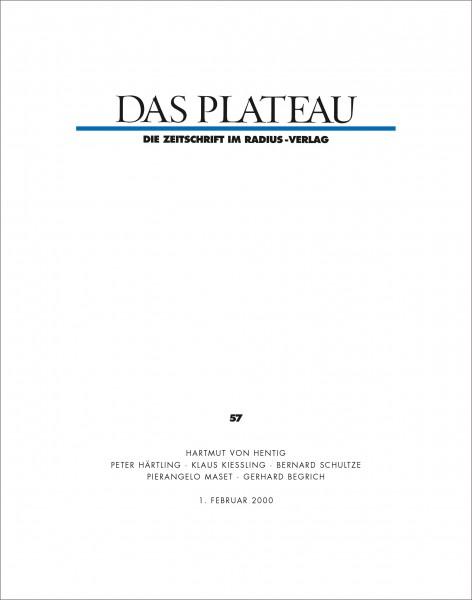 DAS PLATEAU No 57