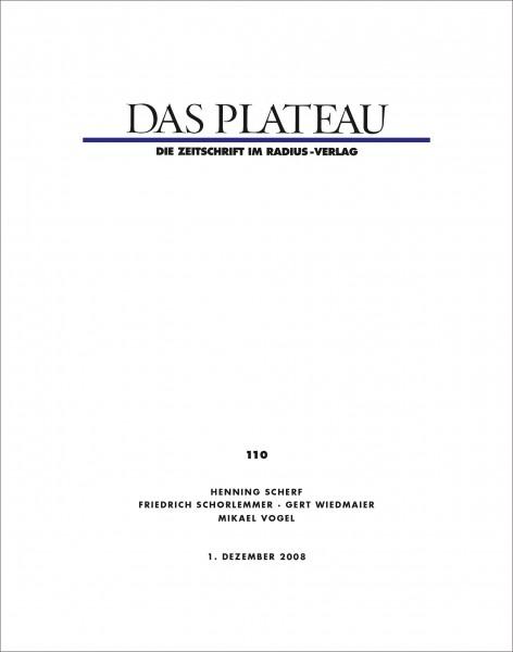 DAS PLATEAU No 110