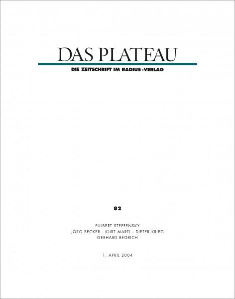 DAS PLATEAU No 82