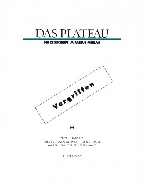 DAS PLATEAU No 94