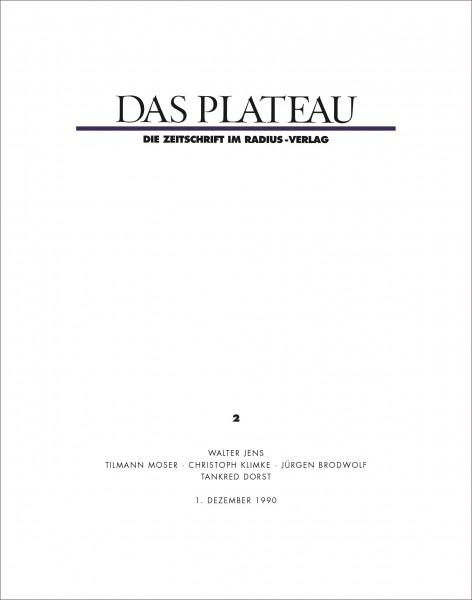 DAS PLATEAU No 2