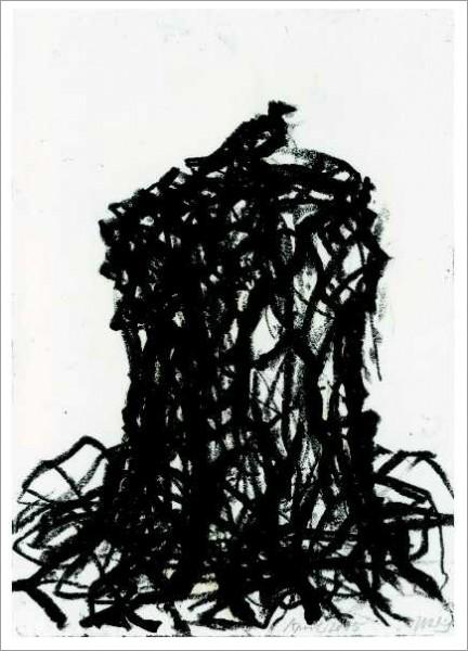 »Palatin: Antikes Trümmerrelikt mit Vogel«