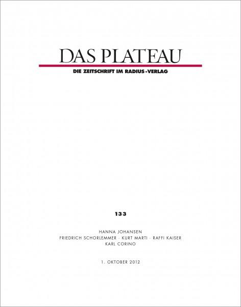 DAS PLATEAU No 133