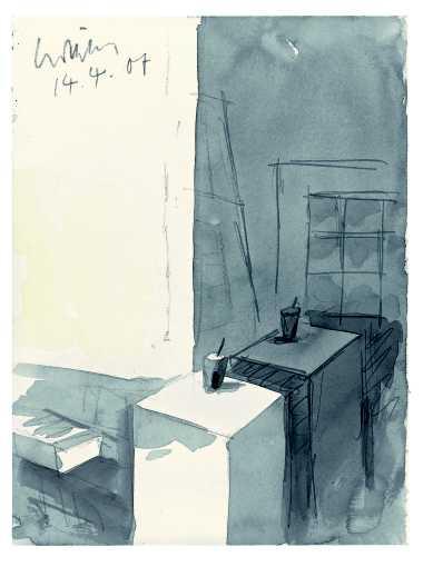 aus dem Zyklus »Atelier-Interieur«