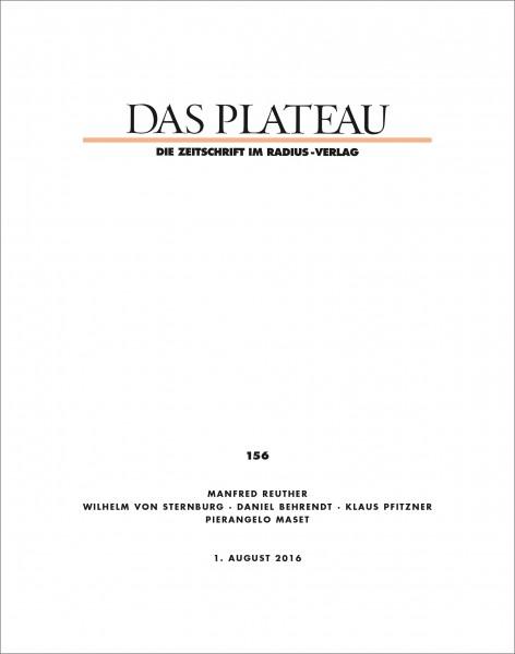 DAS PLATEAU No 156