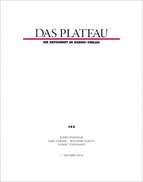DAS PLATEAU No 145