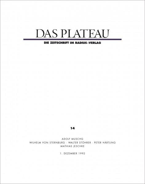 DAS PLATEAU No 14