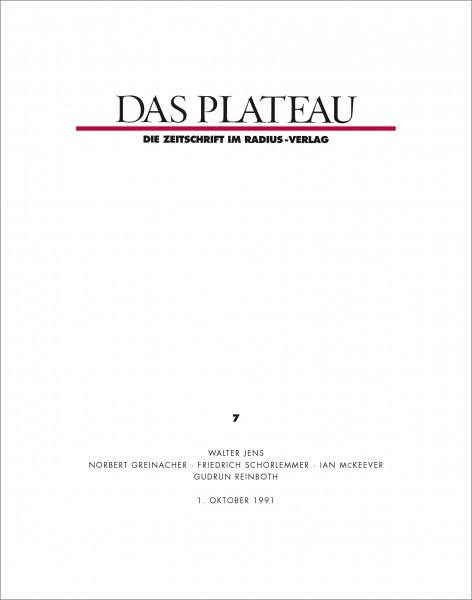 DAS PLATEAU No 7