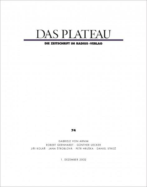 DAS PLATEAU No 74