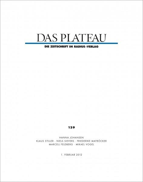 DAS PLATEAU No 129