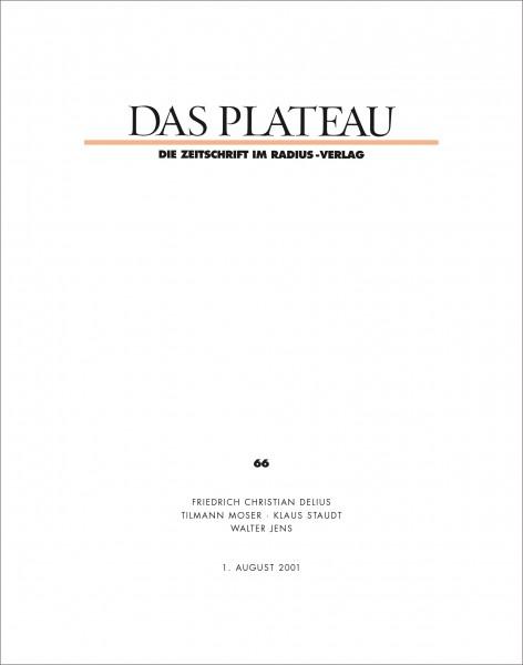 DAS PLATEAU No 66