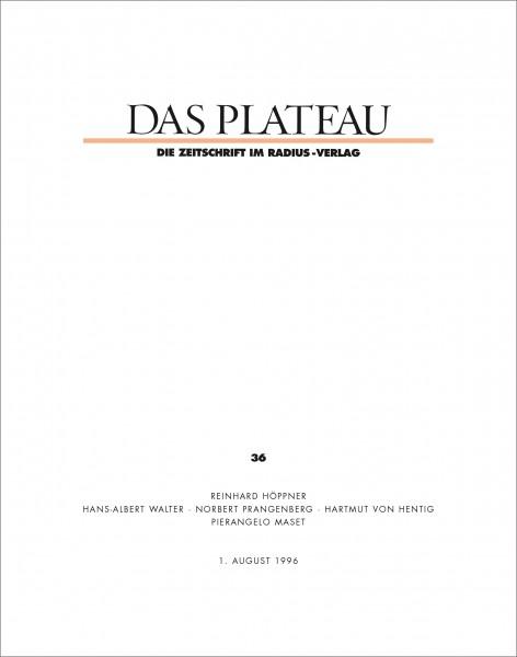 DAS PLATEAU No 36