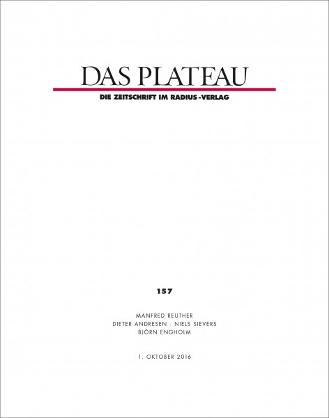 DAS PLATEAU No 157