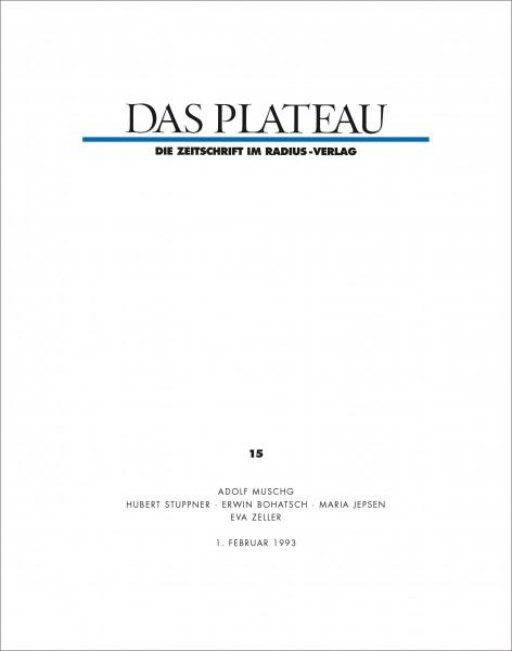 DAS PLATEAU No 15