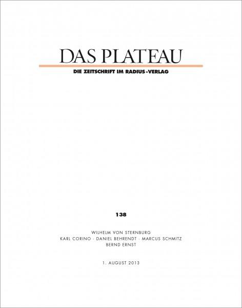 DAS PLATEAU No 138
