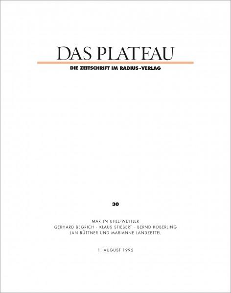 DAS PLATEAU No 30