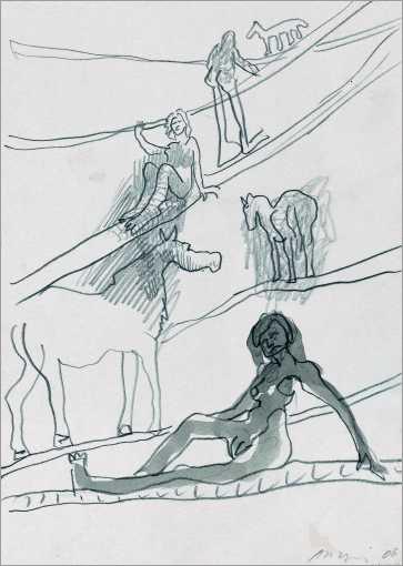 aus dem Zyklus »Von Menschen und Tieren«