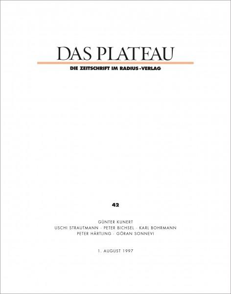 DAS PLATEAU No 42
