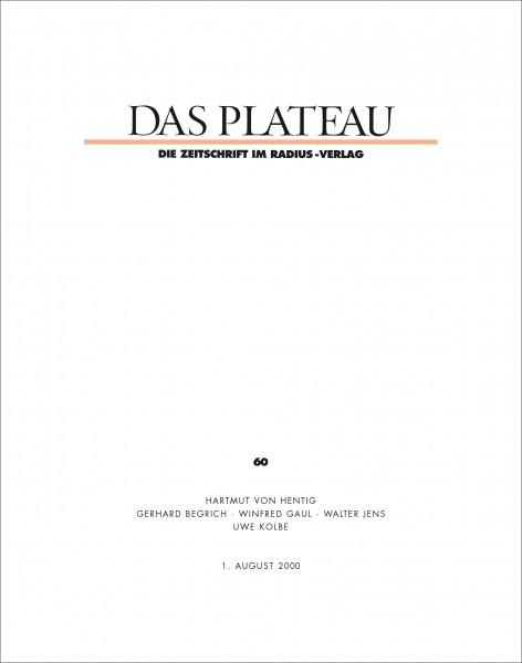 DAS PLATEAU No 60