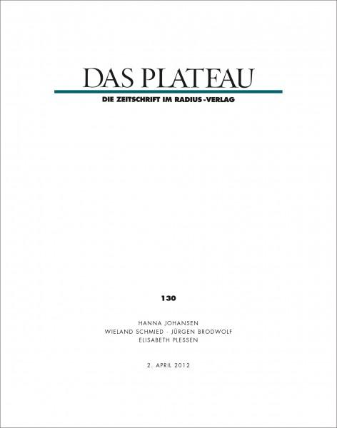 DAS PLATEAU No 130