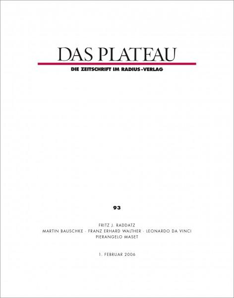 DAS PLATEAU No 93