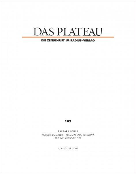 DAS PLATEAU No 102