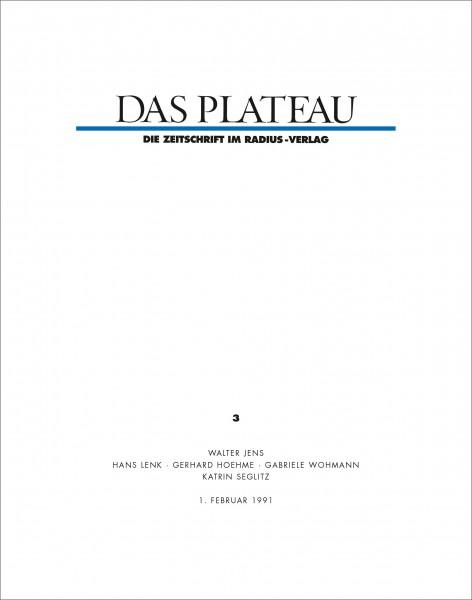 DAS PLATEAU No 3